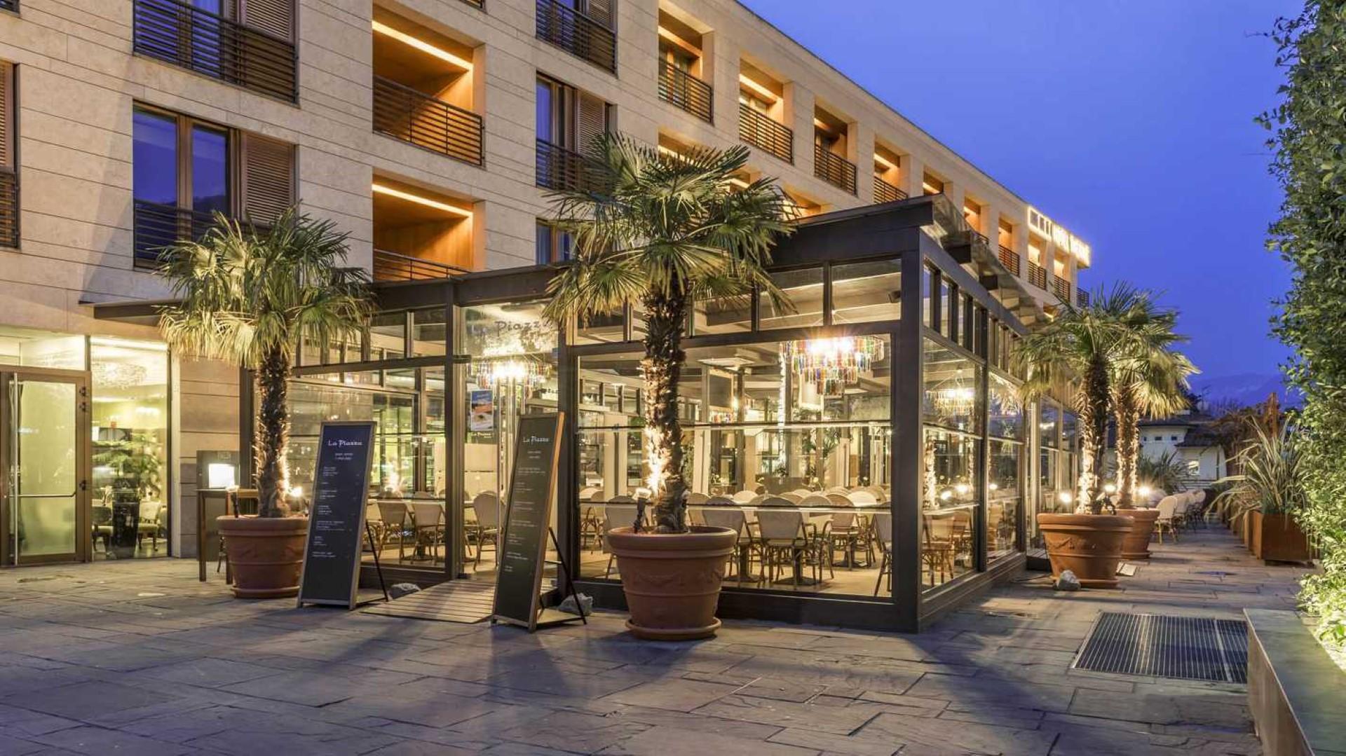 Le terme di merano hotel a lana for Design hotel meran